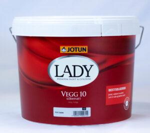 Jotun Lady vægmaling glans 10