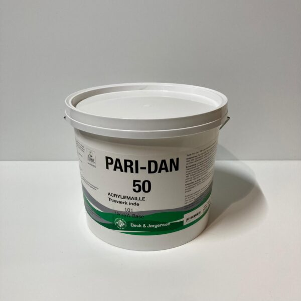 B&J Pari-Dan 50 Inderdørs Træværksmaling (2.7Liter)