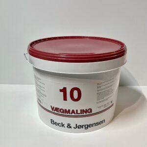 B&J 10 Plast Vægmaling (9Liter)